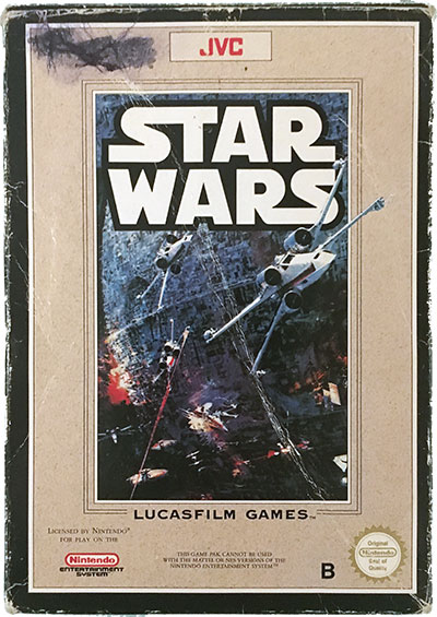 Star Wars SCN CIB NES