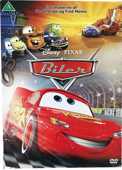 Disney Pixar Biler Dvd