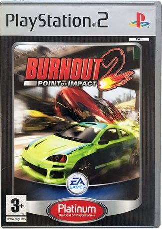 Burnout 2 Point of Impact Platinum PS2