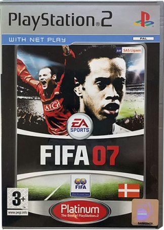 FIFA 07 PS2 dk platinum