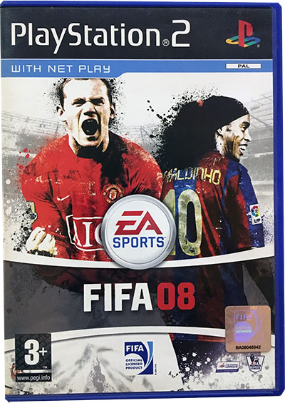 FIFA 08 PS2 UK