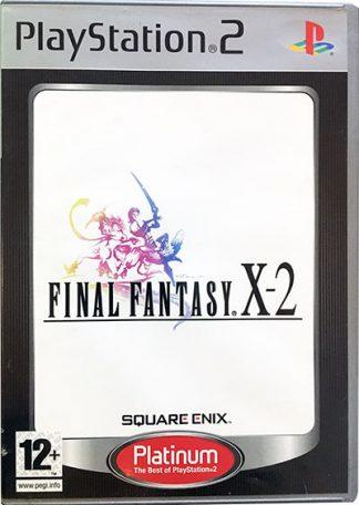 Final Fantasy X-2 platinum PS2