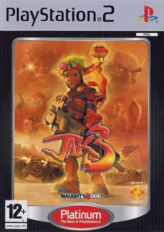 Jak 3 PS2 platinum