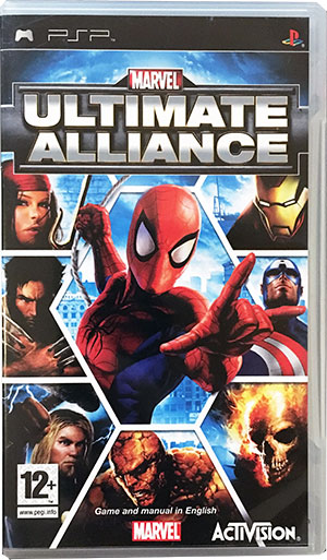 Marvel Ultimate Alliance PSP