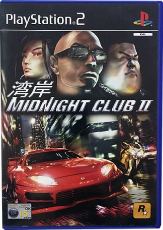 Midnight Club II PS2