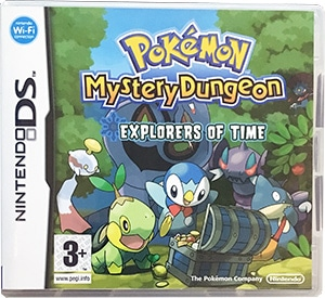 Pokémon Mystery Dungeon Explorers of Time Nintendo DS