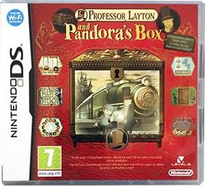 Professor Layton and Pandora's Box Nintendo DS