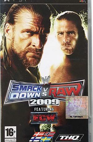 SmackDown vs Raw 2009 PSP