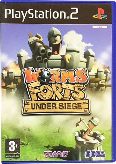 Worms Forts Under Siege PS2