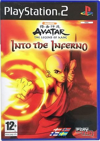 Avatar The Legend of Aang Into the Inferno PS2