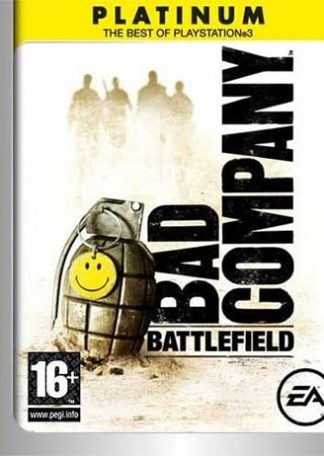 Battlefield Bad Company PS3 platinum