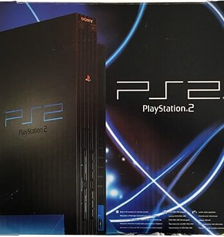 PlayStation 2 konsol i æske