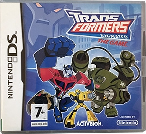 Transformers Animated The Game Nintendo DS