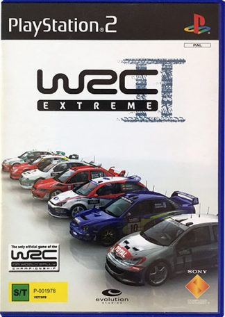 WRC II Extreme PS2