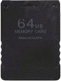 64MB PS2 Memory Card PS2