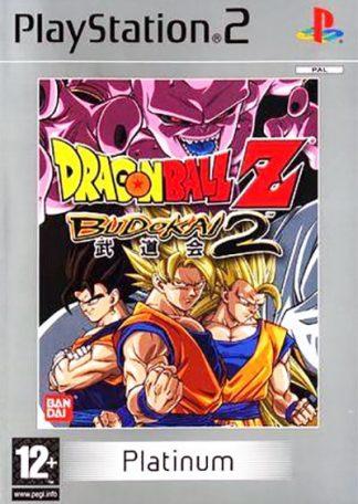 Dragon Ball Z Budokai 2 PS2 platinum