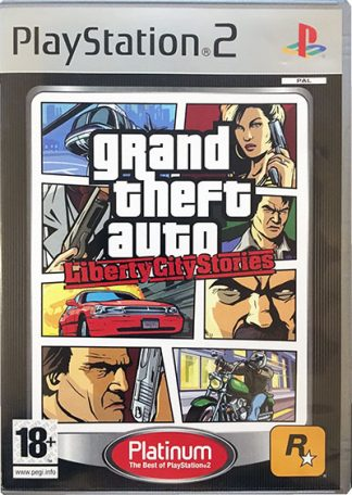 Grand Theft Auto Liberty City Stories (platinum) PS2