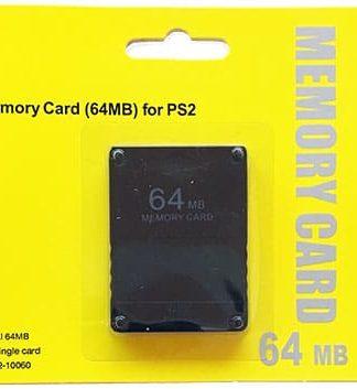 64MB PS2 Memory Card fra Zedlabz