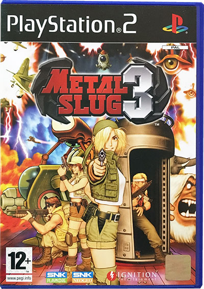 Metal Slug 3 PS2