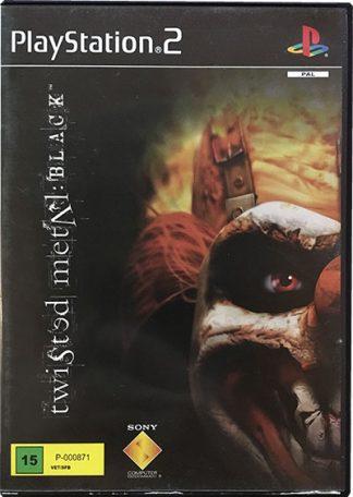 Twisted Metal Black PS2