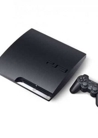 PlayStation 3 konsol 320gb slim sort CECH-3004B