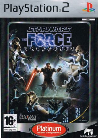 Star Wars the Force Unleashed platinum PS2