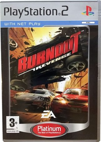 Burnout Revenge platinum PS2