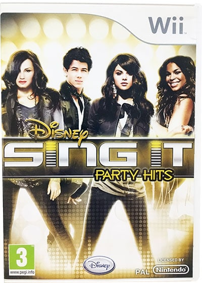 Disney Sing It Party Hits Wii