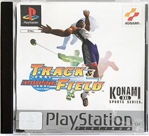International Track & Field PS1 platinum