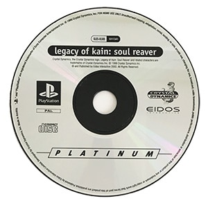 Legacy Of Kain Soul Reaver PS1 disc only