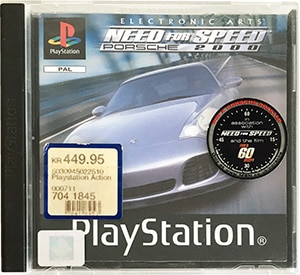 Need for Speed Porsche 2000 PS1