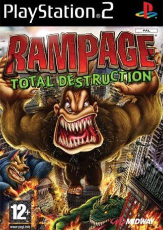 Rampage Total Destruction PS2