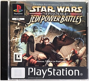 Star Wars Episode I Jedi Power Battles PS1