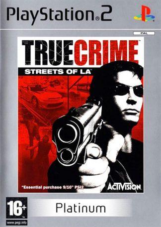 True Crime Streets of LA (platinum) PS2