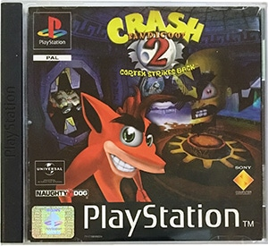 Crash Bandicoot 2 Cortex Strikes Back PS1