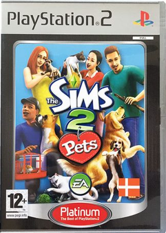 The Sims 2 Pets PS2 platinum