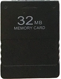 32MB PS2 Memory Card PS2