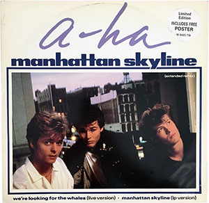 A-ha Manhattan Skyline LP