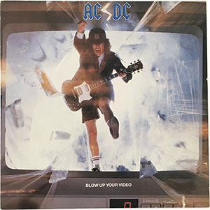 AC/DC Blow up Your Video LP