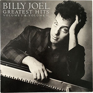 Billy Joel Greatest Hits Volume I & II LP