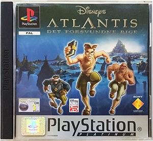 Disney's Atlantis Det Forsvundne Rige (platinum) PS1
