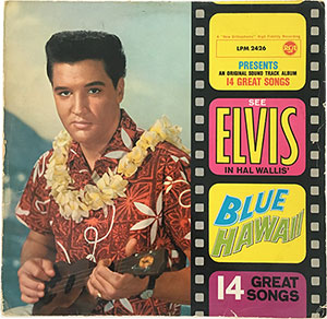 Elvis Blue Hawaii LP