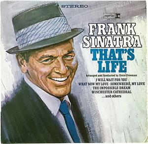 Frank Sinatra That's Life LP