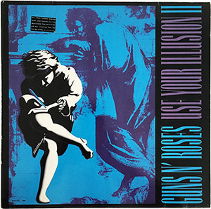 Guns N' Roses Use Your Illusion II LP