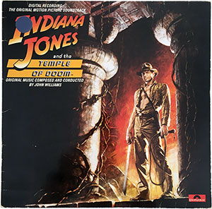 Indiana Jones and the Temple of Doom Soundtrack LP
