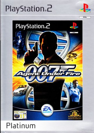 James Bond 007 Agent Under Fire (platinum) PS2