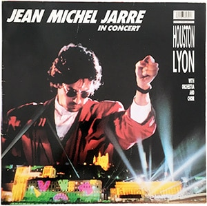 Jean Michel Jarre In Concert Houston/Lyon LP