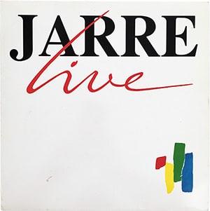 Jean Michel Jarre - Jarre Live LP