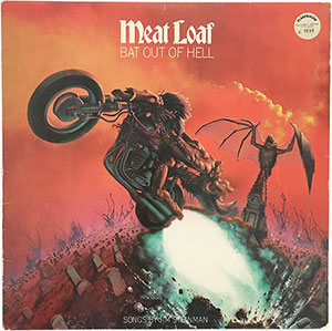 Meat Loaf Bat Out Of Hell LP
