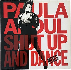 Paula Abdul Shut Up And Dance Mixes LP